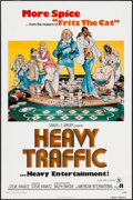 "Movie Posters:Animation, Heavy Traffic (American International, 1973). One Sheet (27"" X 41"") & Photos (13) (8"" X 10""). Animation.. ... (Total: 14 Item)"