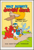 "Movie Posters:Animation, Donald's Better Self (Circle Fine Art, R-1980s). Fine ArtSerigraphs (5) (21"" X 30.75""). Animation.. ... (Total: 5 Items)"