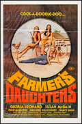 "Movie Posters:Adult, Farmer's Daughters & Others Lot (Alpha Blue, 1976). One Sheets (3) (25"" X 38"" & 27"" X 41""). Adult.. ... (Total: 3 Items)"