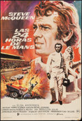 "Movie Posters:Sports, Le Mans (Filmax, 1971). Full-Bleed Spanish One Sheet (27"" X 39""). Sports.. ..."