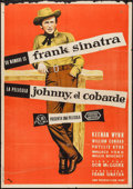"Movie Posters:Western, Johnny Concho (CB Films, 1956). Spanish One Sheet (27.25"" X 39""). Western.. ..."
