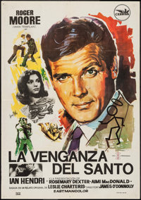 """Vendetta for the Saint & Other Lot (Cepicsa, 1969). Spanish One Sheets (2)(27.5"""" X 39.5""""). Mystery. ... (T..."""