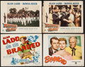 """Movie Posters:Western, Branded & Other Lot (Paramount, 1951). Title Lobby Card &Lobby Cards (3) (11"""" X 14""""). Western.. ... (Total: 4 Items)"""