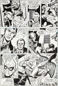 Original Comic Art:Panel Pages, Ross Andru and Jim Mooney Amazing Spider-Man #178 Story Page3 Green Goblin Original Art (Marvel, 1978)....