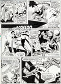 Original Comic Art:Panel Pages, Ross Andru and Mike Esposito Amazing Spider-Man #159 Page 31Original Art (Marvel, 1976)....