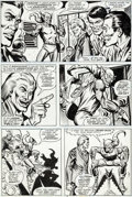 Original Comic Art:Panel Pages, Ross Andru and Jim Mooney Amazing Spider-Man #178 Story Page2 Green Goblin Original Art (Marvel, 1978)....