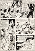 Original Comic Art:Panel Pages, Al Williamson Flash Gordon #5 Story Page 10 Original Art(King Features, 1967)....