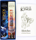 Books:Science Fiction & Fantasy, George R. R. Martin. Richard Hescox, illustrator. SIGNED/LIMITED.A Clash of Kings. Subterranean Press, 2014.... (Total: 3Items)