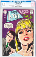 Silver Age (1956-1969):Romance, Falling in Love #98 (DC, 1968) CGC NM- 9.2 Off-white to white pages....