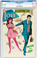 Silver Age (1956-1969):Romance, Falling in Love #102 (DC, 1968) CGC NM 9.4 White pages....