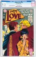 Bronze Age (1970-1979):Romance, Falling in Love #104 (DC, 1969) CGC NM- 9.2 Off-white to whitepages....