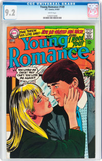 Young Romance #149 (DC, 1967) CGC NM- 9.2 White pages