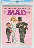 Magazines:Mad, MAD #104 (EC, 1966) CGC NM 9.4 White pages....