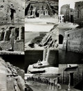 Books:Prints & Leaves, [Egypt]. Collection of Thirty-Six Photographs Depicting AncientEgyptian Architectural Sites....