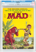 Magazines:Mad, MAD #102 (EC, 1966) CGC NM+ 9.6 White pages....