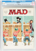 Magazines:Mad, MAD #85 (EC, 1964) CGC NM 9.4 White pages....