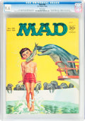 Magazines:Mad, MAD #98 (EC, 1965) CGC NM+ 9.6 White pages....