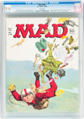 Magazines:Mad, MAD #106 (EC, 1966) CGC NM 9.4 White pages....