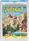 Magazines:Mad, MAD #31 (EC, 1957) CGC VF 8.0 Off-white to white pages....