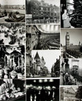 Books:Prints & Leaves, [London]. Archive of Approximately 141 Photographs Depicting Viewsof Historic London....