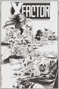 Original Comic Art:Covers, Steve Epting and John Dell X-Factor #120 Cover Original Art(Marvel, 1996)....