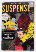 Silver Age (1956-1969):Science Fiction, Tales of Suspense #4 (Marvel, 1959) Condition: GD....