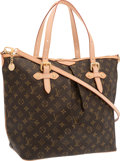 "Luxury Accessories:Bags, Louis Vuitton Classic Monogram Canvas Palermo GM Bag. ExcellentCondition. 13.5"" Width x 13.5"" Height x 7.5"" Depth. ..."