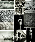 Books:Prints & Leaves, [Egypt]. Archive of Approximately 200 Photographs Depicting AncientEgyptian Art and Antiquities....