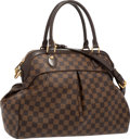"Luxury Accessories:Bags, Louis Vuitton Damier Ebene Canvas Trevi GM Bag. ExcellentCondition. 16"" Width x 12"" Height x 7"" Depth. ..."