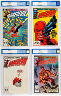 Modern Age (1980-Present):Superhero, Daredevil CGC-Graded Group of 4 (Marvel, 1982-83) CGC NM+ 9.6except as noted.... (Total: 4 Comic Books)