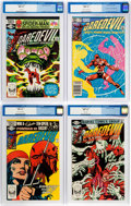 Modern Age (1980-Present):Superhero, Daredevil #177-180 CGC-Graded Group (Marvel, 1981-82) Condition:CGC NM+ 9.6.... (Total: 4 Comic Books)