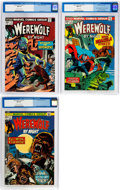 Bronze Age (1970-1979):Horror, Werewolf by Night #11, 15, and 17 CGC-Graded Group (Marvel,1973-74) Condition: CGC NM 9.4.... (Total: 3 Comic Books)