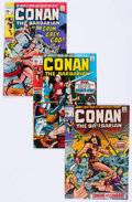 Bronze Age (1970-1979):Adventure, Conan the Barbarian Group of 27 (Marvel, 1970-76) Condition: Average VF.... (Total: 27 Comic Books)