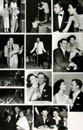 Books:Prints & Leaves, [Frank Sinatra]. Group of Eleven Photographs and Press PrintsRelating to Frank Sinatra.. ...