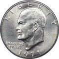 Eisenhower Dollars, 1971-S $1 Silver MS68 PCGS....