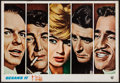"""Movie Posters:Crime, Ocean's 11 (Warner Brothers, 1960). Pressbook (12 Pages, 11"""" X 17)& Japanese Program (16 Pages, 8.25"""" X 11.75""""). Crime.. ...(Total: 2 Items)"""