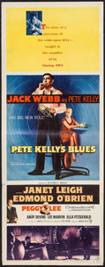 "Movie Posters:Crime, Pete Kelly's Blues (Warner Brothers, 1955). Insert (14"" X 36"").Crime.. ..."