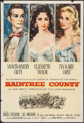 """Movie Posters:Romance, Raintree County (MGM, 1957). One Sheet (28"""" X 41""""), Title Lobby Card, Lobby Cards (9) (11"""" X 14""""), and Uncut Pressbook (12"""" ... (Total: 12 Items)"""