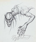 Original Comic Art:Miscellaneous, Greg Hildebrandt - Swamp Creature Preliminary Drawing Original Art(undated)....