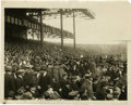 Baseball Collectibles:Photos, 1923 New York Yankees Opening Day Service Photograph. History wasmade on the day of April 18, 1923 as the New Yankee Stadi...
