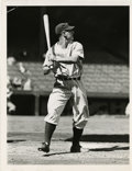 Baseball Collectibles:Photos, Circa 1920s Lou Gehrig Service Photograph. The legendary sluggerfor the Bronx Bombers Lou Gehrig is shown here for this e...