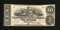 Confederate Notes:1862 Issues, T52 $10 1862. This 3 Series note grades Fine....