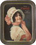 "Advertising:Trays, 1914 ""Betty"" Coca-Cola Tray...."