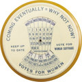 Political:3D & Other Display (1896-present), Mechanical Suffrage Paperweight Calendar Mirror...