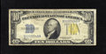 Small Size:World War II Emergency Notes, Fr. 2309 $10 1934A North Africa Silver Certificate. Very Good-Fine. This financial warrior was not left with any edge tears ...