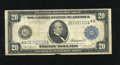 Large Size:Federal Reserve Notes, Fr. 978 $20 1914 Federal Reserve Note Fine. Less than 30 examples are known on the Cleveland district....