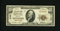 National Bank Notes:Kentucky, Louisville, KY - $10 1929 Ty. 1 The Citizens Union NB Ch. # 2164.Perhaps PVC has made the brown ink bleed through to th...