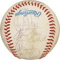 Autographs:Baseballs, 1983 Baltimore Orioles Team Signed Baseball. The 1983 BaltimoreOrioles were the World Series champions. The OAL (MacPhail)...