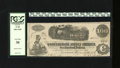 "Confederate Notes:1862 Issues, T40 $100 1862. The name of plate engraver ""Camaan"" is found withinthe left-hand margin of this $100. PCGS Very Fine 30...."