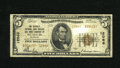 National Bank Notes:Missouri, Saint Louis, MO - $5 1929 Ty. 2 The Security NB Savings & TCCh. # 12066. A misguided soul tried to erase green ink from...